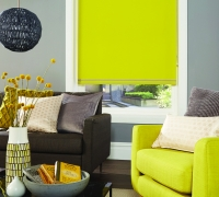 Rio Chartreuse Roller Blind1