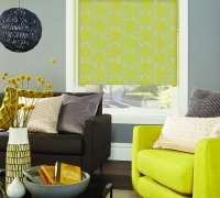 SLX_Moonseed Chartreuse Roller Blind