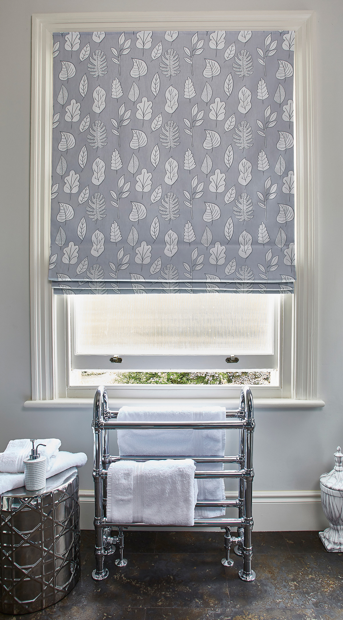 Biscayne Cloud Roman Blind from SLX