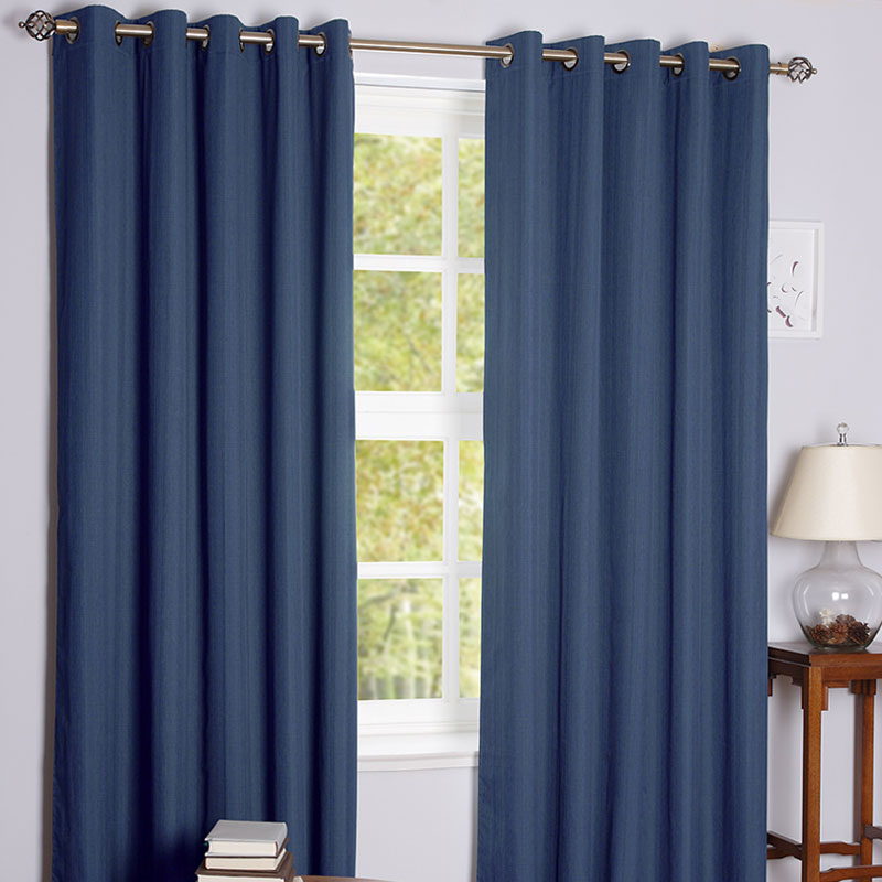 Daytona Denim Blackout Curtains
