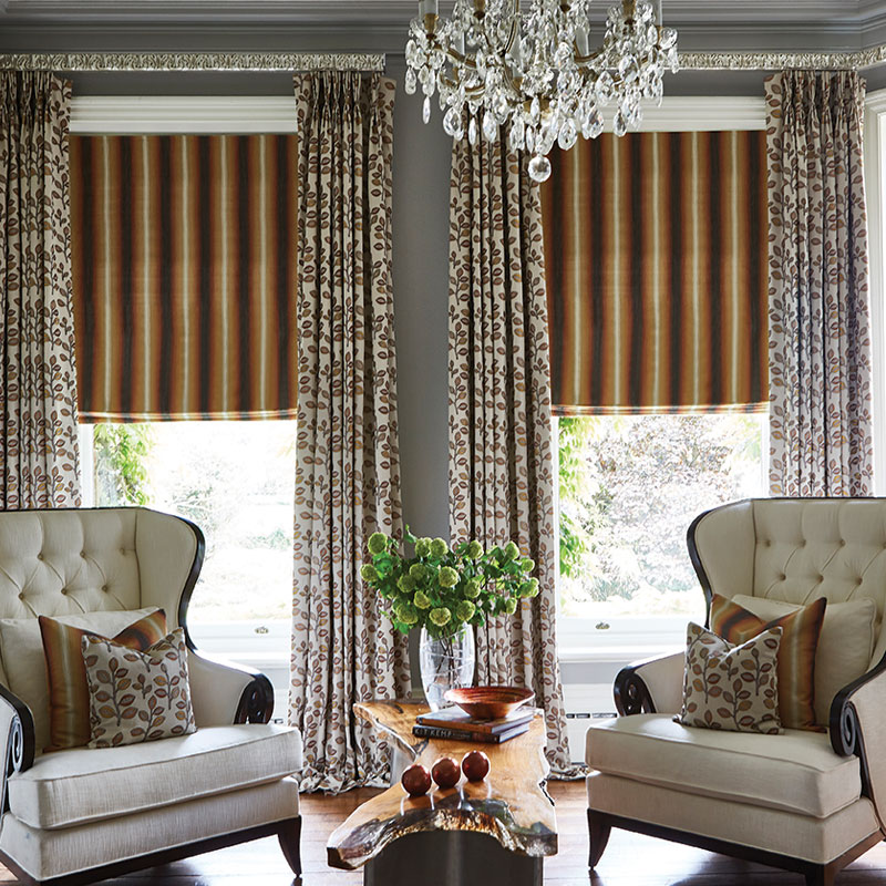 Bourton Marigold Curtains Aston Marigold Roman Blind